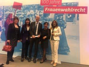 Berlin: 100 Jahre Frauenwahlrecht – die Frauen Union Haan war dabei