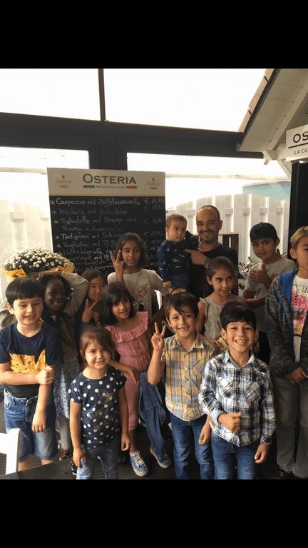 Salvatore Chiarello hat ein großes Herz für Kinder
